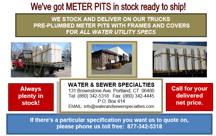 Services – Water and Sewer Specialties